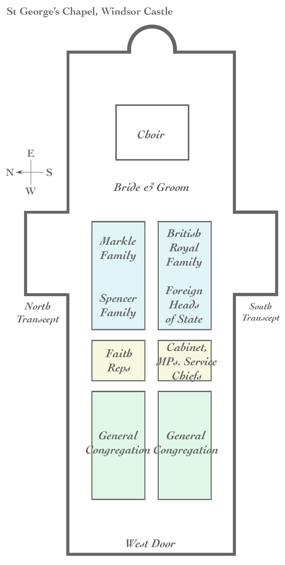 seating plan wedding ceremony