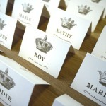Crown escort cards - etsy.com