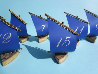 Sailboat table numbers - etsy.com
