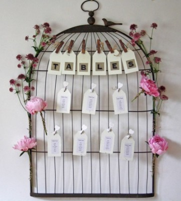 Birdcage Seating Plan - notonthehighstreet.com