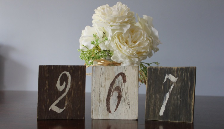 Shabby Chic Table Numbers - etsy.com