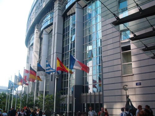 Brussels EU Building