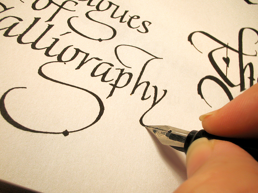 Learning calligraphy for your wedding seating plan Where to learn calligraphy