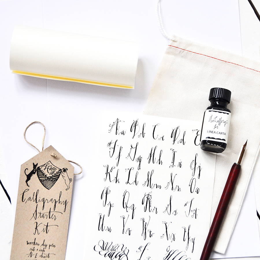 Learning Calligraphy For Your Wedding Seating Plan