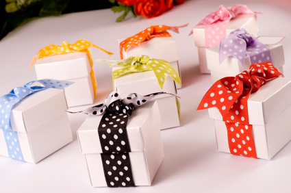 Wedding Favours In Boxes
