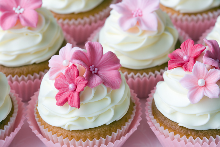 Make Your Own Wedding Cupcakes