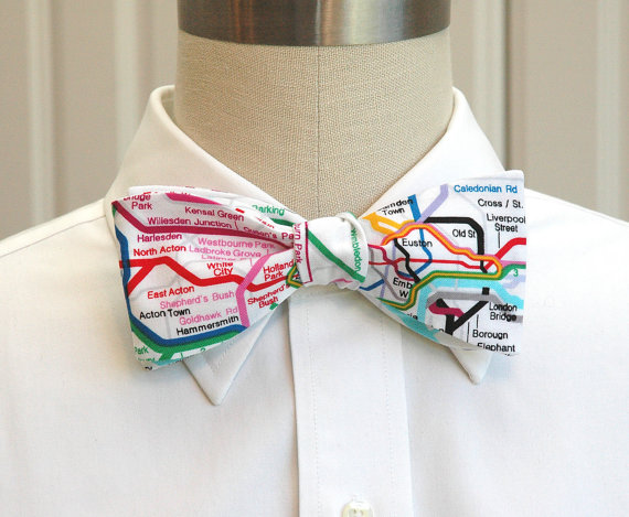 London Underground bow tie