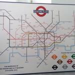 London Underground Wedding Table Plan