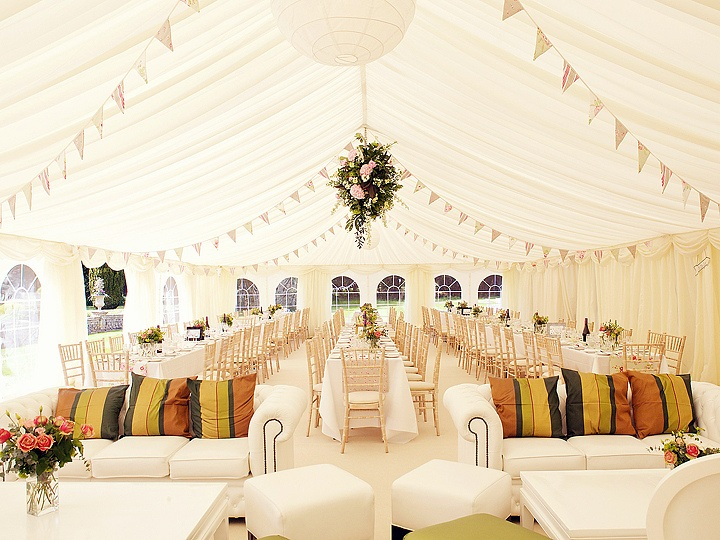 Wedding Bunting - Image by County Marquees