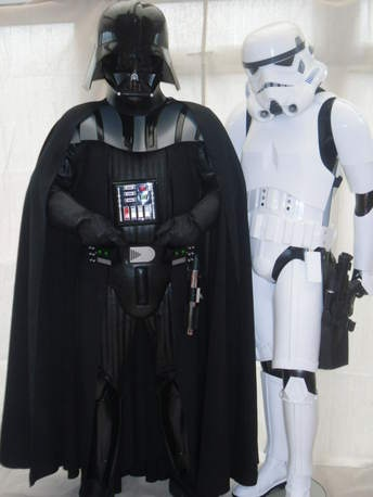 Hire Darth Vader and a Stormtrooper