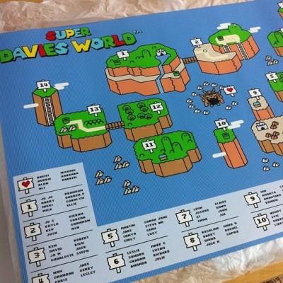 Super Mario World seating plan