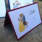 Disney wedding table number - etsy.com