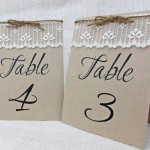 Incorporating Lace Into Your Wedding Seating Plan