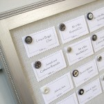 Silver Themed Wedding Seating Plans