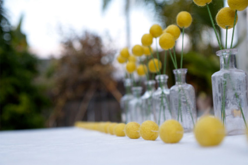 Yellow Wedding Colour Scheme