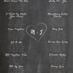 Make Your Own Wedding Chalkboards