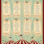 No Clowning Around With This Wedding Table Plan