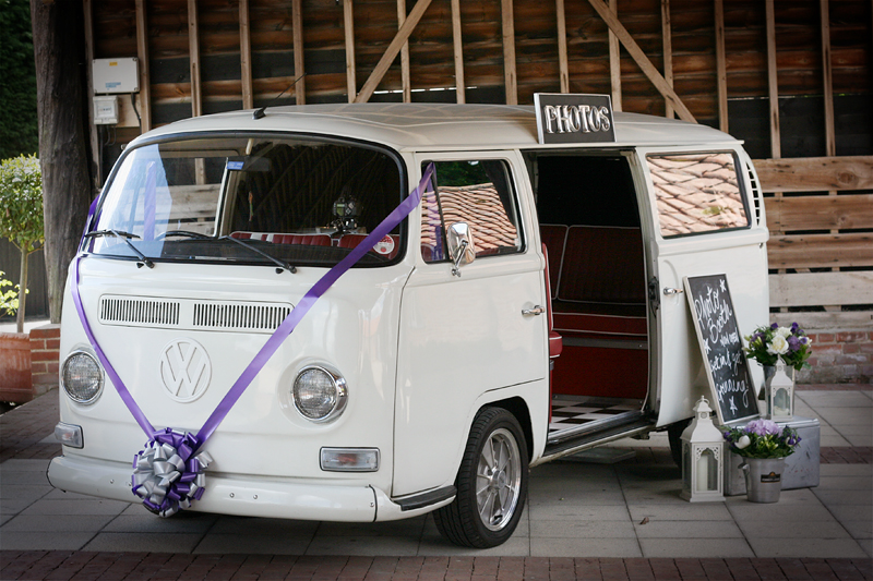 VW Campervan Photo Booth