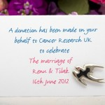 Jenny Packham Designs New Cancer Research UK Wedding Favours Range