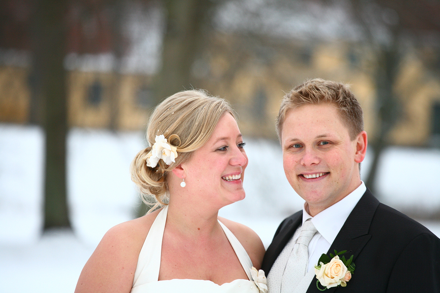 Danish couple just married