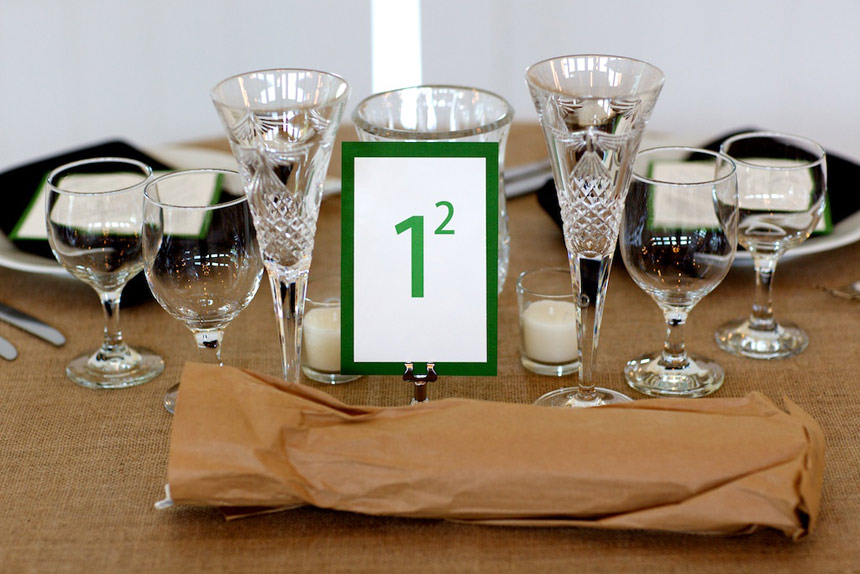 Maths challenge table number - Worthington Photography