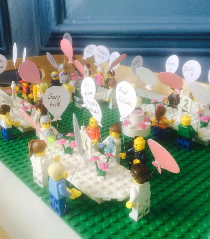 Wedding Table Plans Ideas: Lego Wedding Seating Plans