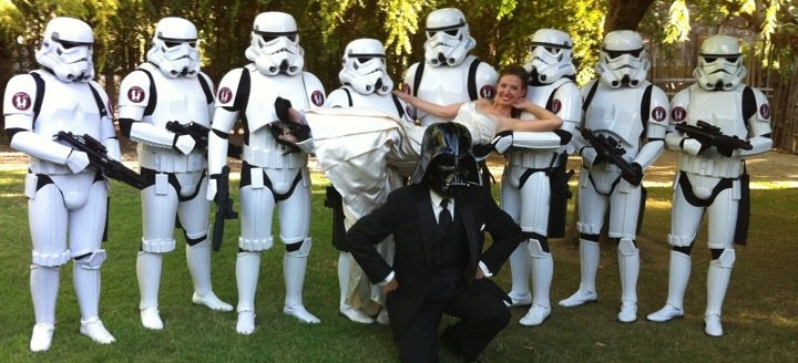 Star Wars Wedding.A Star Wars Wedding Theme May The Force Be With You