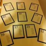 A Great Idea For Numbering Tables