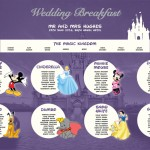 Disney Themed Wedding Seating Plans