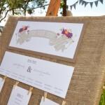 Boho Woodland Wonderland Wedding Seating Plans