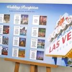 Las Vegas Themed Wedding Table Plans