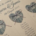 A Brown and Naturals Themed Wedding Seating Plan