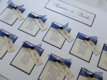 Alabama Handmade Wedding Table Plan
