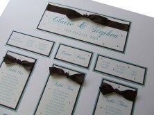 Oklahoma Handmade Wedding Table Plan